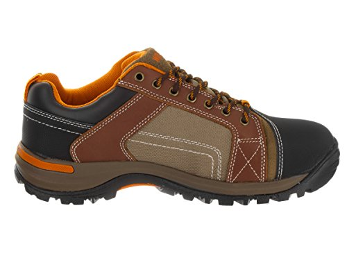Chisel Shoe Cut Toe Steel Low Work Wolverine Brown EH dq0pn6