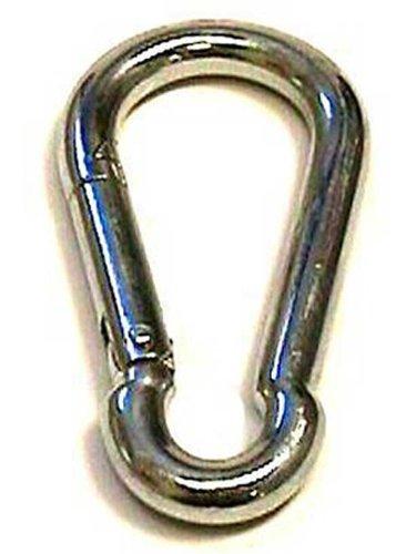 Spring Hook, Snap Hook, Carabiner 5/16'', Pack of 4