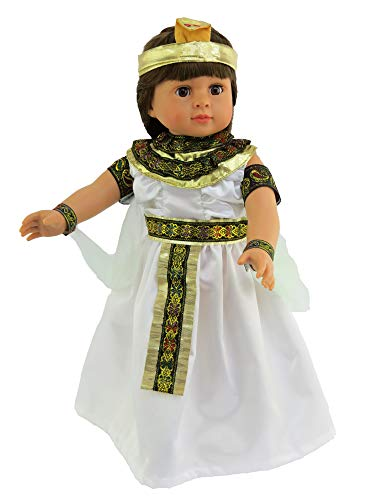 Egyptian Queen Outfit - Egyptian Queen | 18 Inch Doll