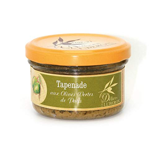 Delices du Luberon - French Green Olive Tapenade - 3.1 oz
