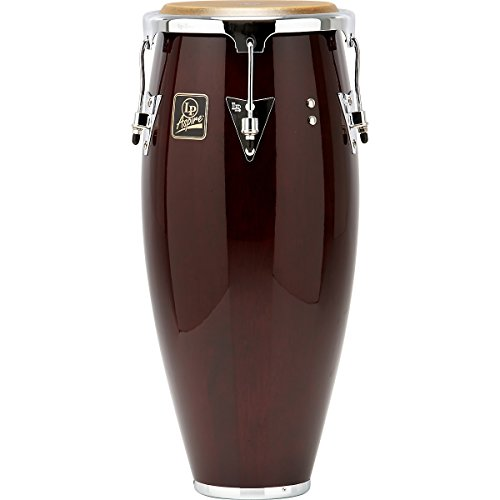 Latin Percussion LPA610-DWC Aspire 10-Inch Quinto Conga - Dark Wood with Chrome Hardware