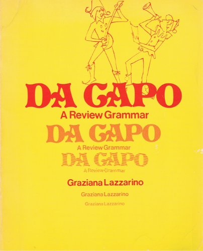 Da Capo: A Review Grammar (English and Italian Edition)