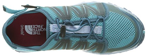 The North Face W Litewave Amphibious, Sandalias Deportivas para Mujer Azul (Bluebird / Powder Blue)