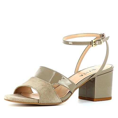 d26e38a735b Evita Shoes Mariella Sandalias de vestir de Piel para mujer marrón ...