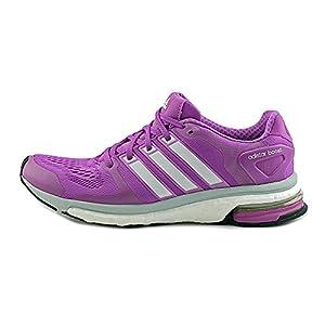Adidas Women's Adistar Boost W Purple/Grey Running Shoe 6.5 Women US