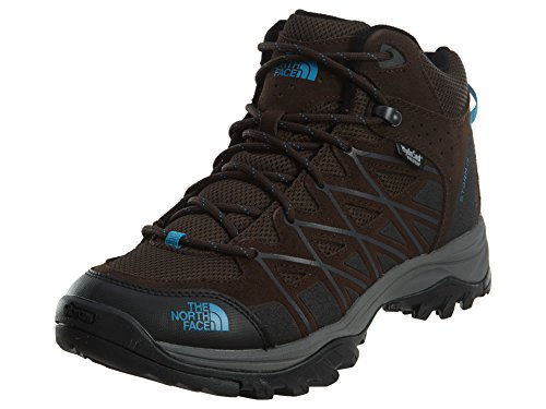 The North Face Storm III Mid WP Demitasse Brown/Hyper Blue Women's Hiking Boots