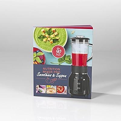 Gourmet Maxx 00055 libro de recetas para Nutrition Mixer Pro, Deliciosos Recetas Ideas: Amazon.es: Hogar