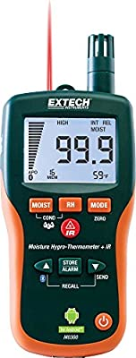 Extech MO300 Pinless Moisture Meter with Bluetooth
