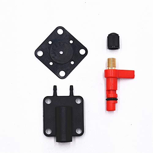 Carbman Primer Solenoid Service Maintenance Valve Kit for Johnson Evinrude 175158 187044