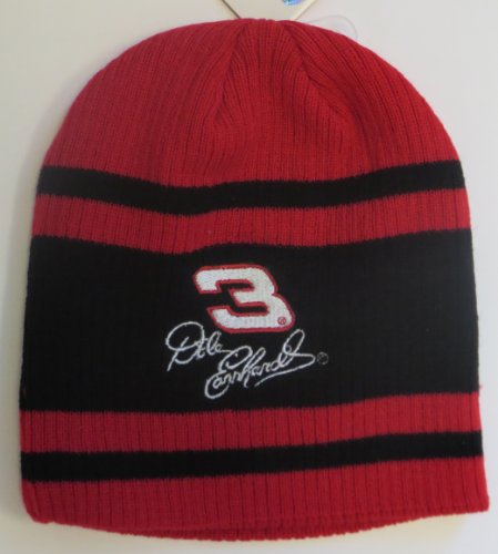 NASCAR Dale Earnhardt Sr Knit Beanie Cap Hat The Intimidator