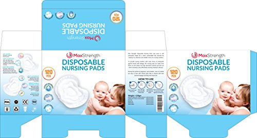 - Nursing Pads 120pc Set of Super Soft Disposable Pads for Breastfeeding Mothers by Max Strength Pro, Padded Leak Proof Protection to Stay Dry During Day or Night, Super Absorbent, Sleep Easy Today!