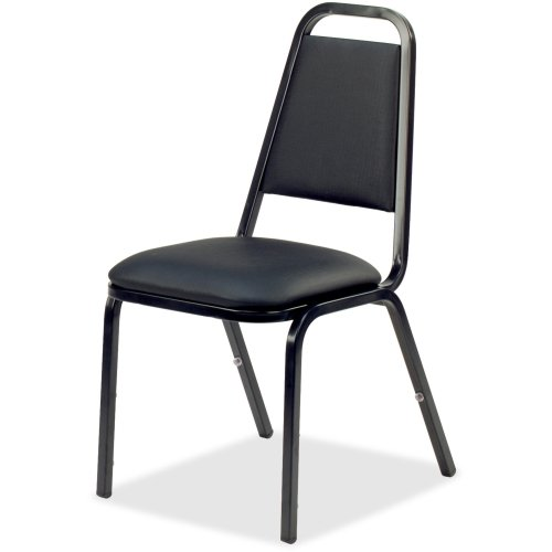 [LLR62512 - Lorell 8926 Upholstered Stacking Chair] (Prima Plastic Stacking Chairs)
