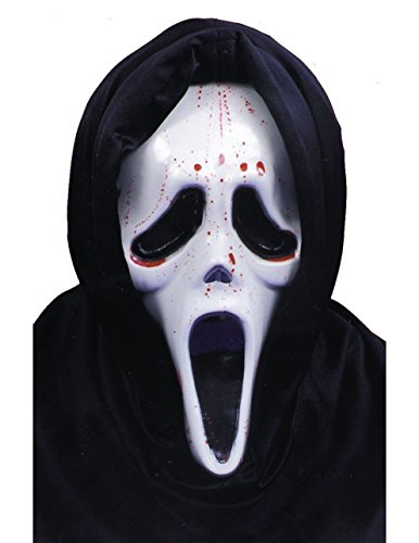 Scream Mask Dripping Blood -