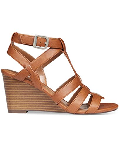 Style & Co.. Womens Haydar Open Toe Casual Platform Sandals, Coffee, Size 7.0 US/5 UK US