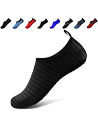 Water Sports Barefoot Shoes Quick-Dry Aqua Yoga Socks Slip-On For Men Women Kids F