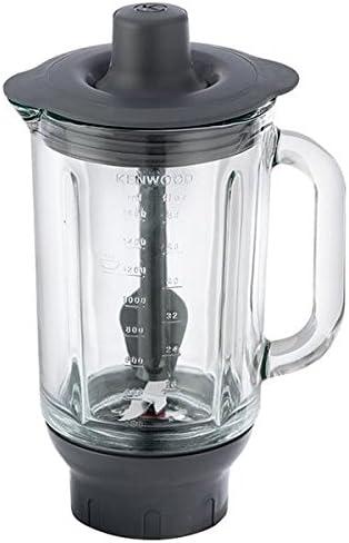 AT337 – Licuadora/licuadora completo gris acrílico 1,5L Remplace par AT358 thermoresist para robot de cocina Kenwood KM502 Chef: Amazon.es: Hogar