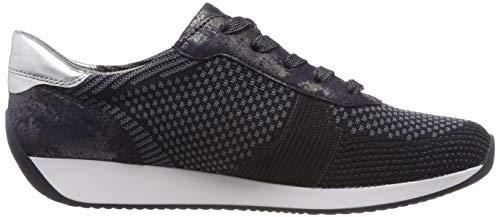 Zapatillas Blau Lissabon 08 Azul grau Para Mujer blau 1234027 Ara silber q4EgRT