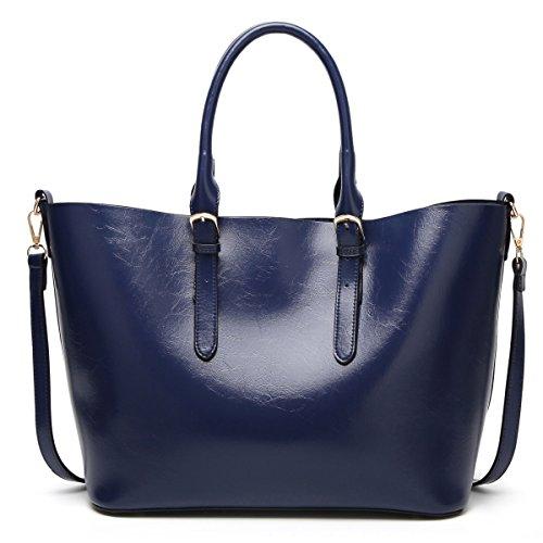 épaules Sacs Cuir Sacs Messager Mode Sacs De poches Dames Main blue à à Multi Main p1XqXZwx