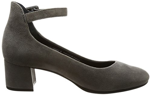 Shoes Ankle Rockport Court Greige Strap Motion Womens Ladies Total Novalie rq78F