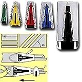 Clover Bias Binding Tape Maker - All 5 Sizes 1/4'' 1/2'' 3/4'' 1'' 2'' Set #464