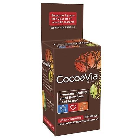 (CocoaVia Cocoa Extract 375mg, Capsules - 3PC )