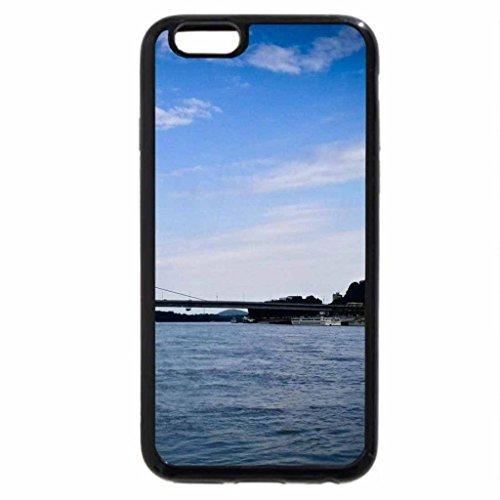 iPhone 6S / iPhone 6 Case (Black) Bridge on the Danube, Bratislava