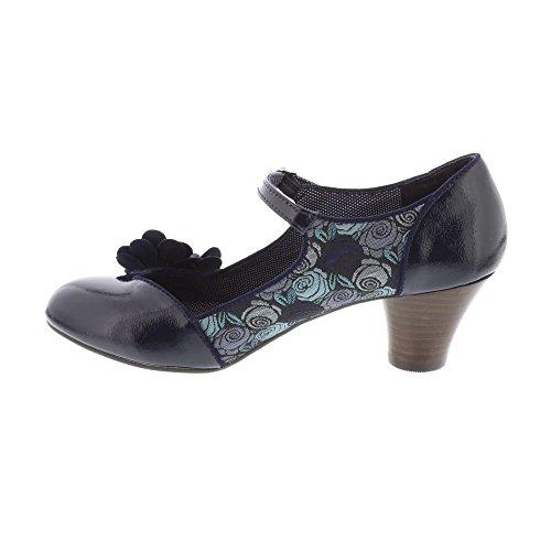 RUBY SHOO Ruby Shoo Womens Shoe Freya Blue