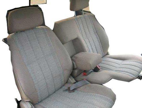 Durafit Seat Covers T772-V1 1995-2000 Toyota Tacoma 60/40 Split Bench Custom Seat Covers. Black Automotive -