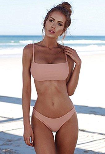 ed27014aee ROVLET 2018 Sexy Push Up Padded Brazilian Bikini Set Swimwear Swimsuit  Beach Suit Bathing Suits