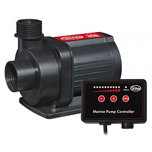 Aqua Nova N-RMC 15000 - Pompa di circolazione per acquari con regolatore di flusso e funzione Feed (alimentazione), portata 15000 l h