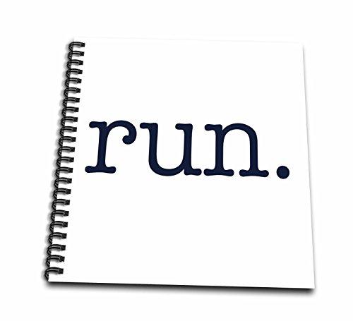 3drose-db-149840-2-run-running-jogging-marathon-runners-memory-book-12-by-12-inch