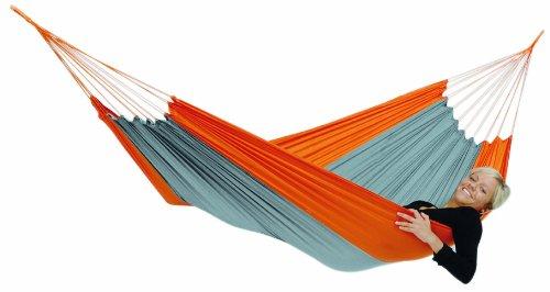 Amazonas AZ-1030160 Amazonas Ultra-Light Silk Traveller Techno Amaca da Escursione, Arancione, Arancione, NULL