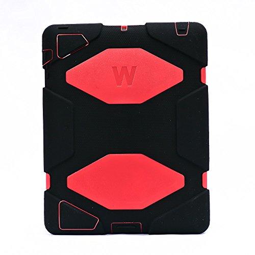 Super Slim Smart Leather Cover Case for Apple iPad mini 4 (Red) - 8