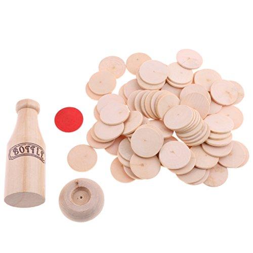 B Baosity バランス ボードゲーム グループプレイ ケーキ ボトル 子供 赤ちゃん おもちゃ 木製 積み重ね