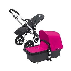 Bugaboo Cameleon3 Stroller - Dark Gray Base with Pink