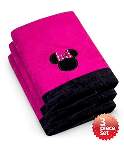 Towels Franco Bath Jay (Jay Franco & Sons Disney's Minnie Mouse Super Absorbent and Soft Fingertip Towel 100% Cotton 11