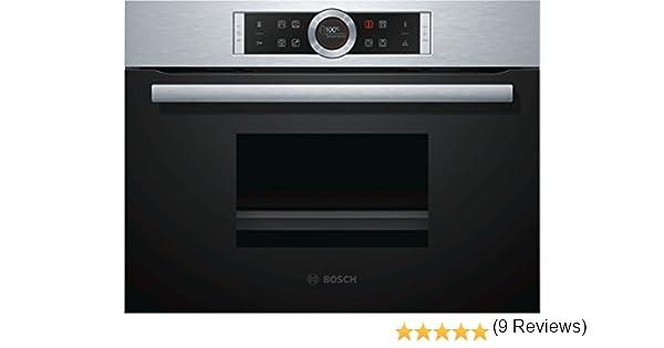 Bosch CDG634BS1 Serie 8, vaporizador eléctrico / empotrable / 59.5 ...