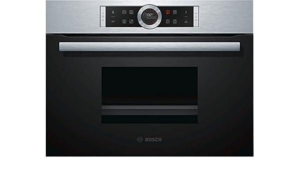 Bosch Serie 8 CDG634BS1 - Horno (Pequeño, Horno eléctrico, 38 L, 38 L, 30-100 °C, Acero inoxidable): Amazon.es: Hogar