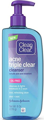 - Clean & Clear Acne Triple Clear Cleanser 8 oz (4 Pack)