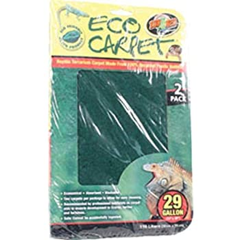 Amazon Com Zoo Med Reptile Cage Carpet For 10 Gallon