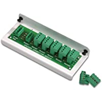 Leviton 48211-6A 1x6 Passive Audio Module (For Use with Impedance Matched Volume Controls SGVSM), White