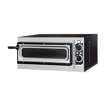Eléctrico horno de pizza pizzería bar 1 pizzas RS7865: Amazon.es ...