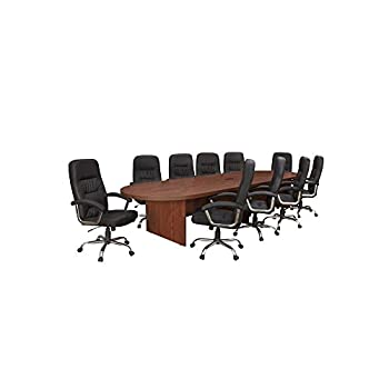 "Legacy 18"" Oval Conference Table Cherry Finish Dimensions: 216""W x 52""D x 29""H Weight: 598 lbs."