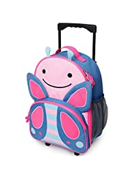 Equipaje para niños con ruedas, Butterfly, Small, Large, X-Small, 4 Ounce