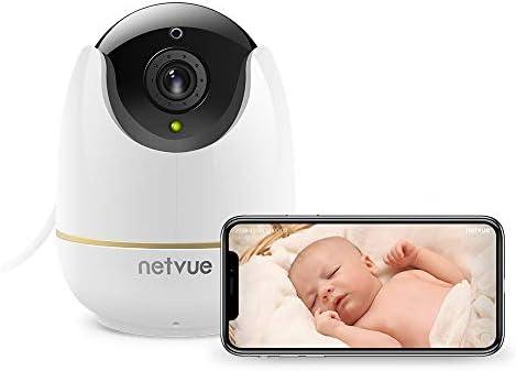 NetVue 1080P Cámara de Vigilancia WiFi Interior Compatible con ...