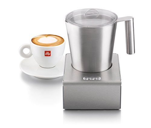illycaffe 20709 Milk Frother, Stainless Steel - silver: Amazon.co.uk ...