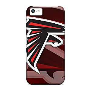 MarieFrancePitre Iphone 5c Protective Cell-phone Hard Covers Allow Personal Design Colorful Atlanta Falcons Skin [cAf17714JSrS]