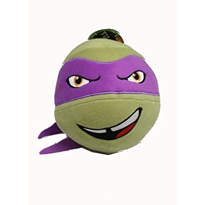 Nickelodeon Teenage Mutant Ninja Turtle Head Plush Ball (Donatello): Toys & Games