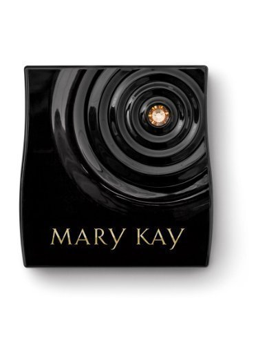 Mary Kay Beauty That Counts Limited Edition Black Magnetic Compact Mini ~ Gold Bling