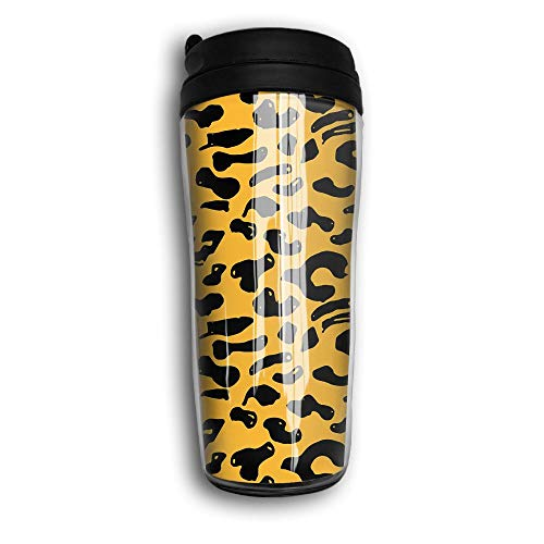 Xyou Animal Skin Stainless Lined Coffee Tumbler, 12-Ounce,Vacuum Insulated Tumbler,Travel Mugs. by Xyou